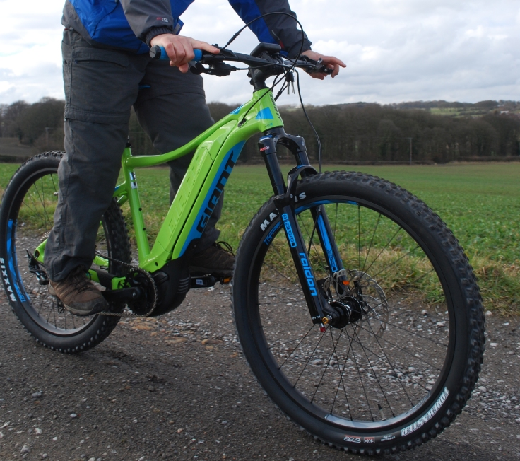 Giant e-mtb Dirt Pro e-bike